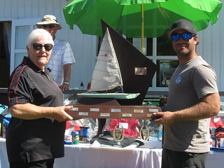 Andrew Child - Winner of the RSA Regatta | by PLSC (Panmure Lagoon Sailing Club)