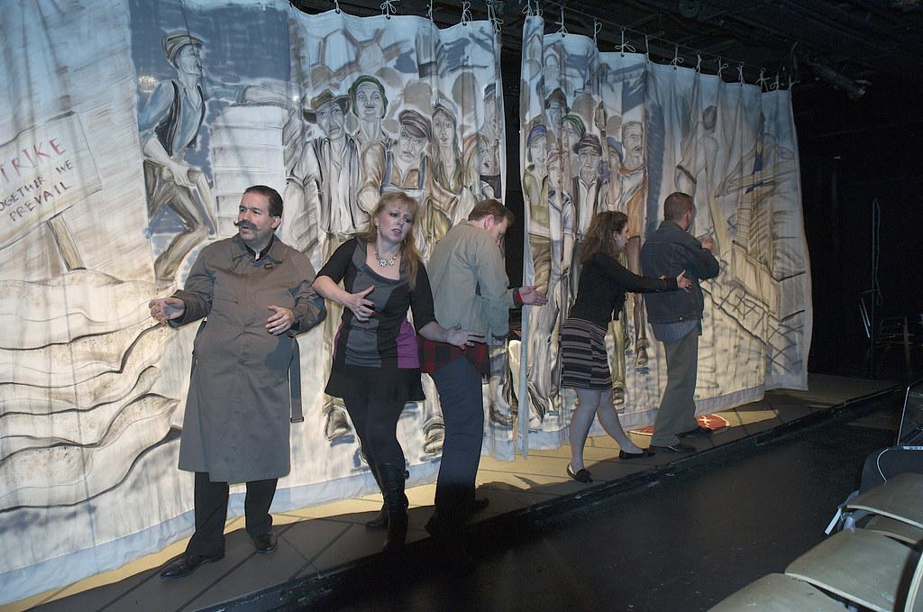 <p>Epilogue<br /> Cast: Peter Orvetti (Federal Agent), Hanna Bondarewska (Antonia), Darren Marquardt ( Giovanni), Mitch Irzniski (Luigi), Moriah Whiteman (Margherita)<br /> <br /> <br /> Photo by Valentin Radev</p>