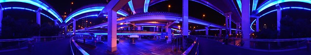 Shanghai - The Blue Intersection
