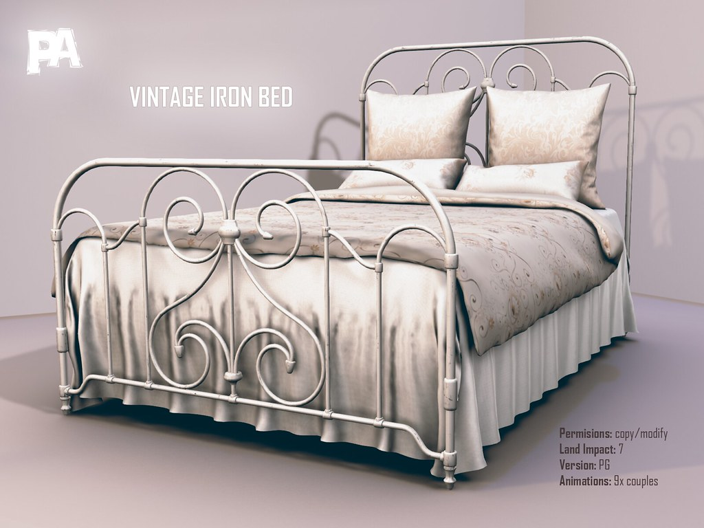 Vintage Iron Bed The Vintage Iron Bed Is 100 Mesh The L Flickr