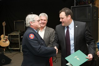 Harold Dugas, 35 years of service | by digby fire dept
