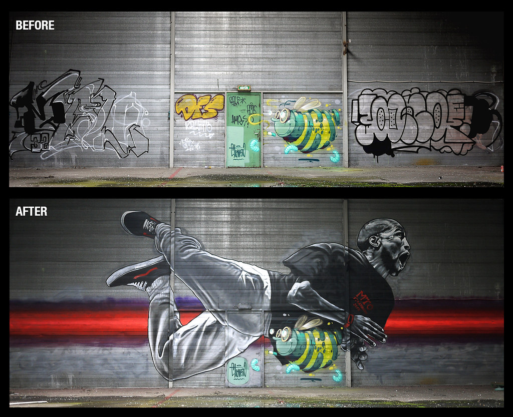 """ Graffitishop.beta : SAVE THE BEE """