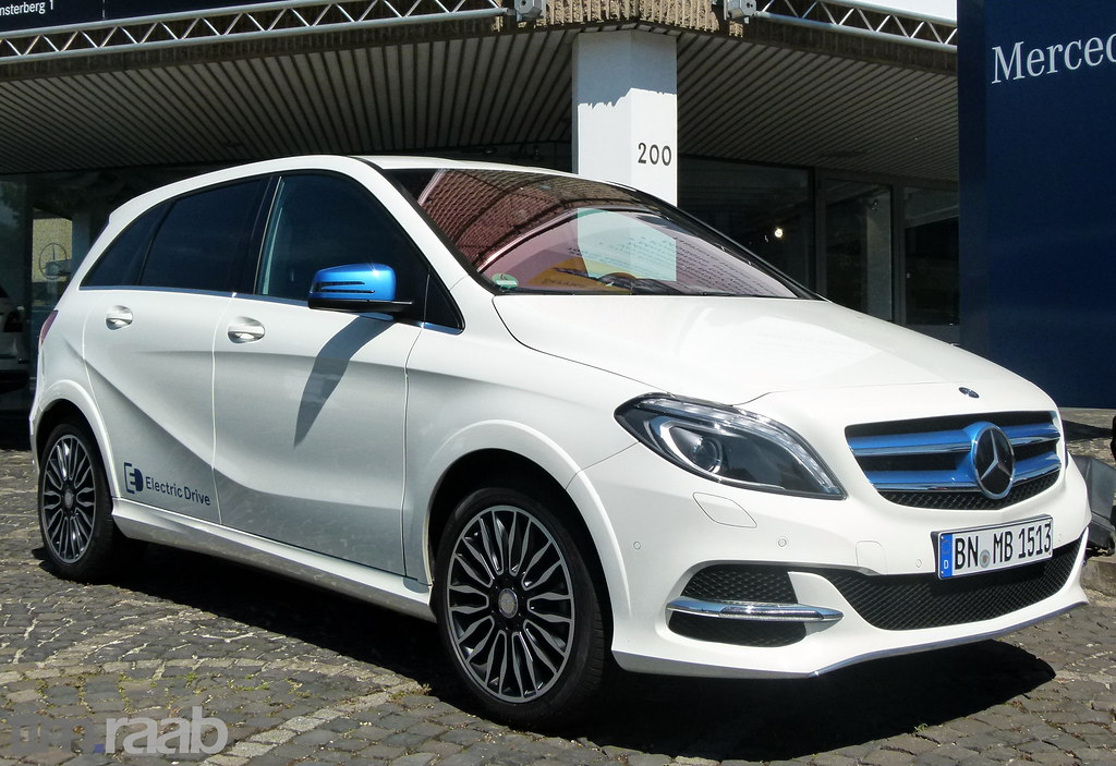 Mercedes Benz B Klasse Electric Drive W 242 Mercedes Ben Flickr