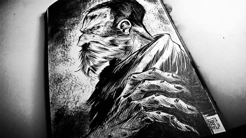 cursed monk