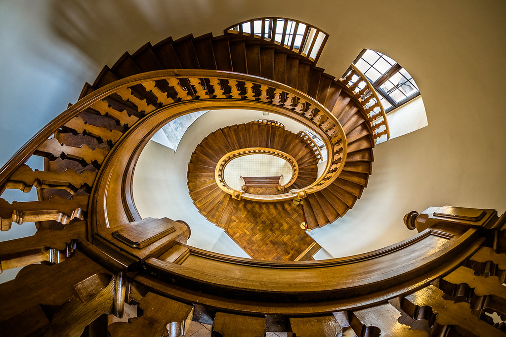 Spiral Staircase :: Berlin Germany