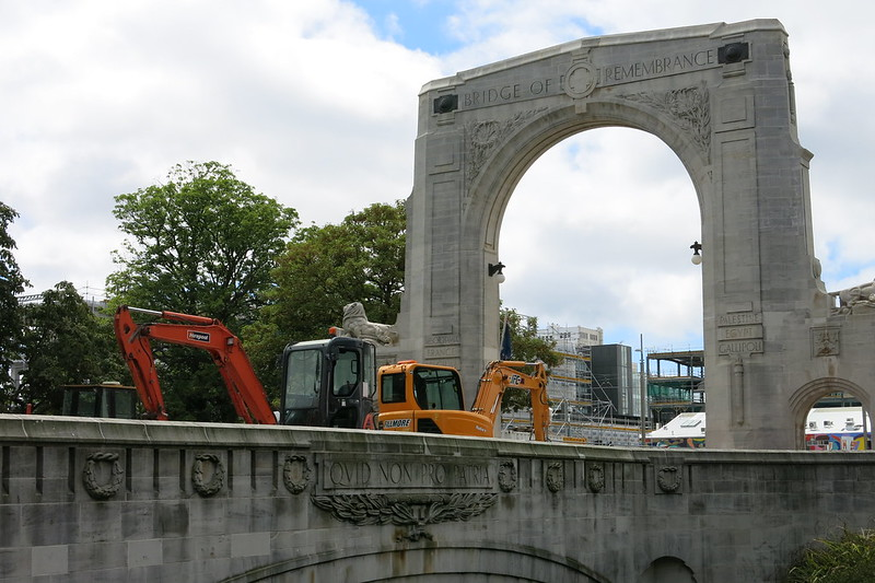 Bridge of Remembrance, Christchurch