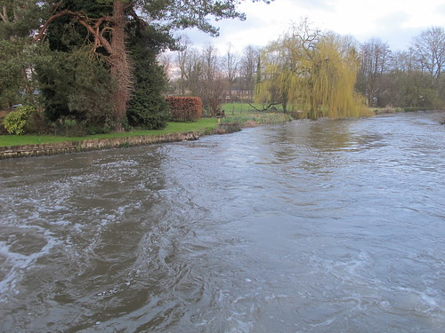 Test River by Sadler's Mill, Romsey SWC Walk 58 Mottisfont and Dunbridge to Romsey taken by Karen C.
