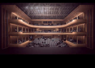 Proposal of the Linbury Auditorium side © Stanton Williams / ROH 2016 | by Royal Opera House Covent Garden
