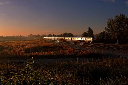 sunrise didcot firstgreatwestern hst gwml moretoncutting westboundexpress