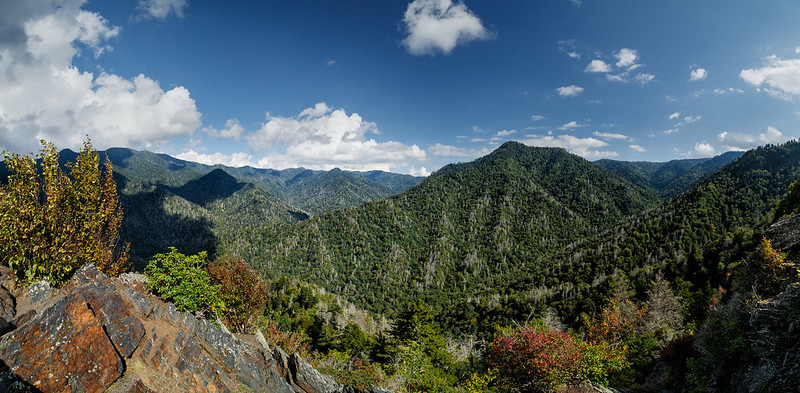 Mount LeConte from the Chimney Tops