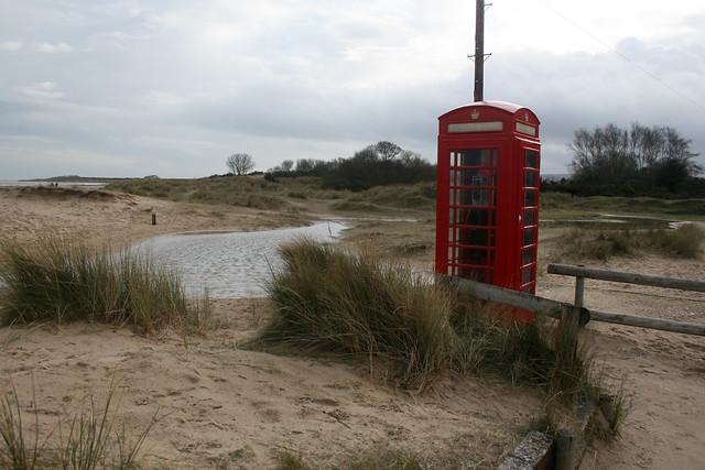 Shell Bay telephone box