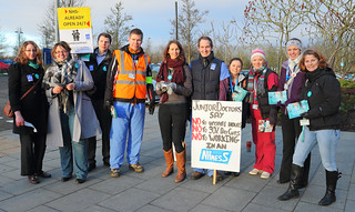 Junior Doctors Strike Picket at Norfolk and Norwich University Hospital | by Roger Blackwell