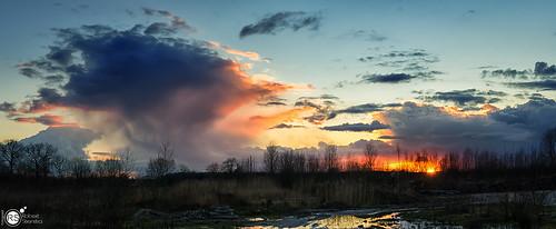 sunset cloud home nature clouds 35mm skyscape landscape nikon wageningen skyscapes cloudscapes gelderland naturalforces cloudformations landscapephotography nikon35mm skyporn geldersestreken