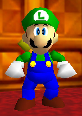 Standard Luigi Overalls This Is The Luigi Model Made By Cj