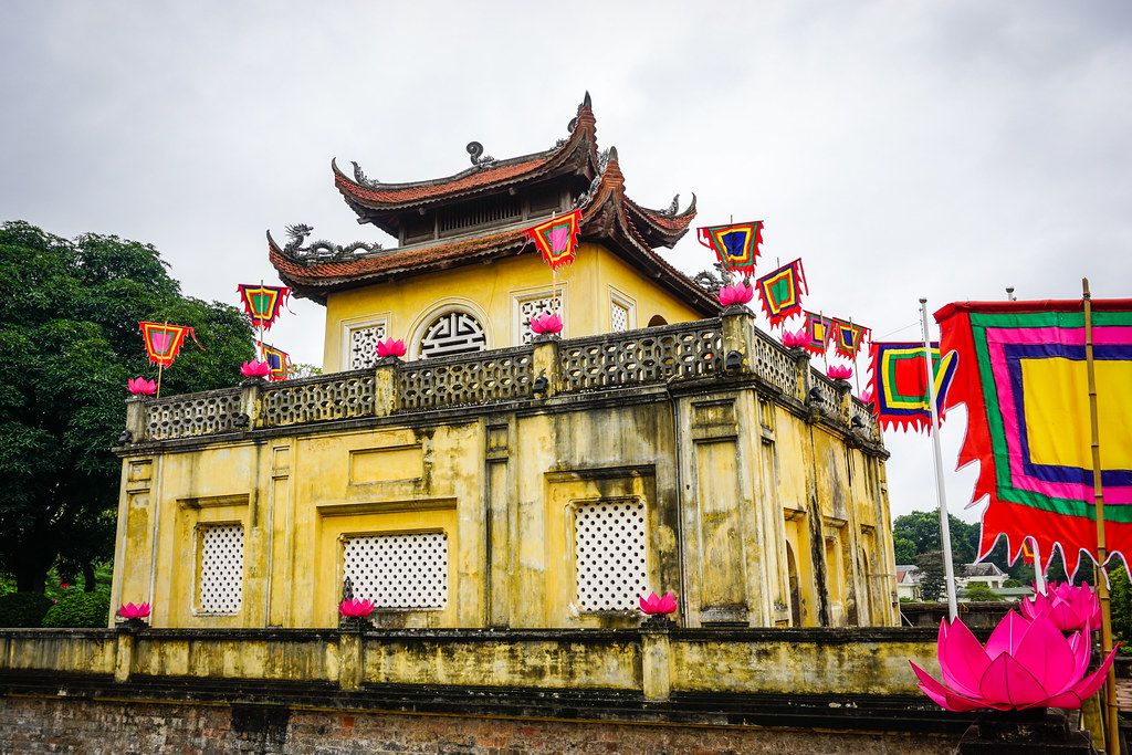 Central Sector of the Imperial Citadel of Thang Long - Hanoi