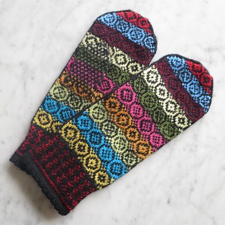 Yarn Ends Mittens
