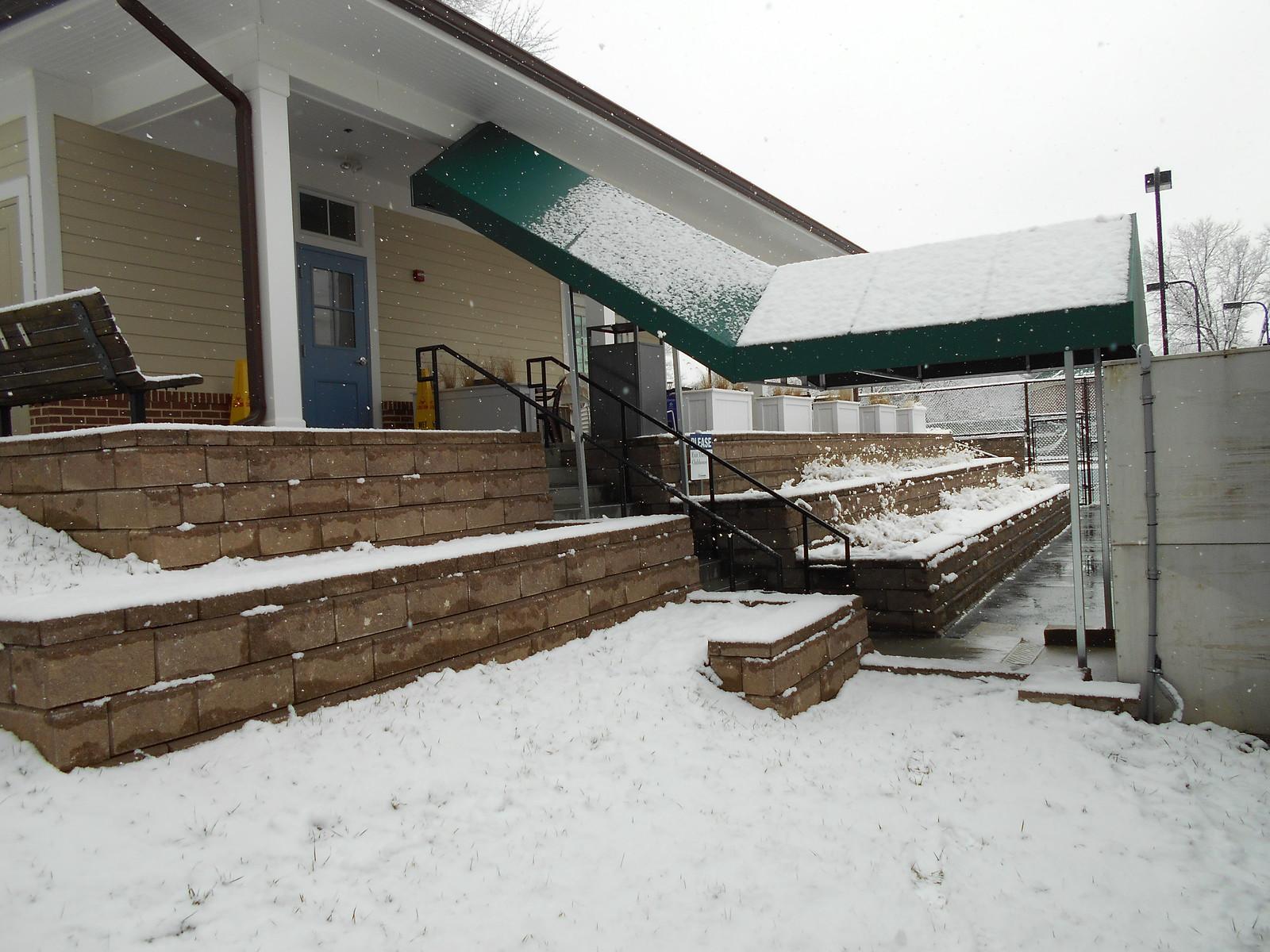 Stairway-Awning-Breezeway Awning -Hoffman Awning Photo