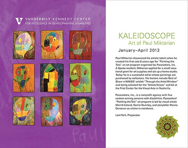 KALEIDOSCOPE  Art of Paul Miktarian [Art Exhibit 2013]