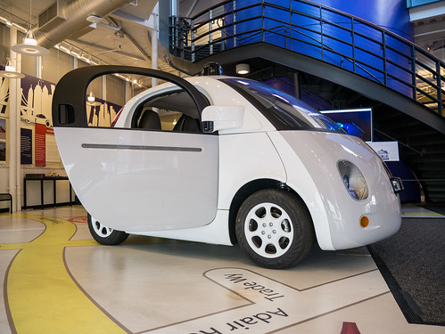 Google Self Driving Car @CHM | by donjd2