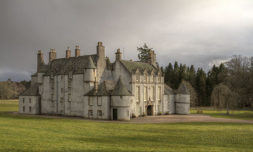 house landscape scotland hall aberdeenshire leith kennethmont