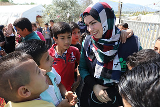 Syrian refugees play with classmates | by World Bank Photo Collection