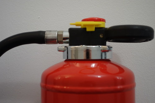 Wall mounted fire extinguisher | by Pascal Volk