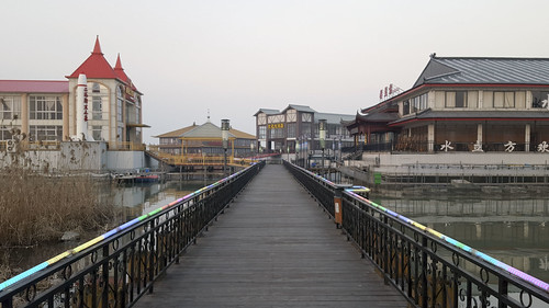 china sunset mall asia storefront jintan