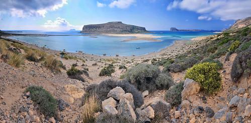 road panorama beach landscape island nikon rocky greece crete grèce panoramique baie crète gramvousa balos kissamos balosbay sizun nikond90 sizuneye