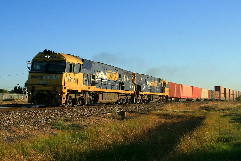 3AB6 NR112 & NR46 Dry Creek by Trackside Photography Australia