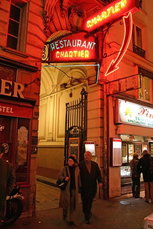 Chartier Restaurant