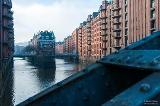 Speicherstadt Hamburg - the ultramodern port in the outgoing 19th century