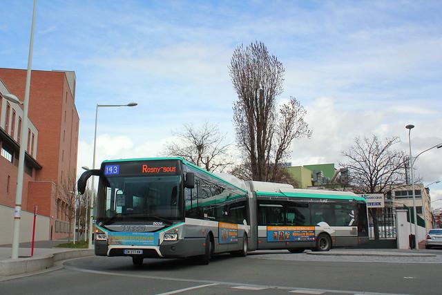 Iveco Bus Urbanway 18 Hybrid - RATP - 5026