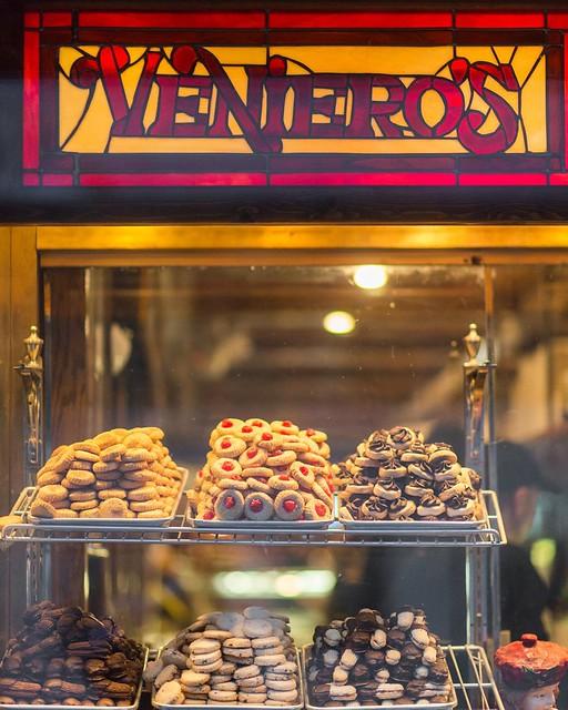 Veniero's in the East Village - An Italian pastry shop open since 1894.
