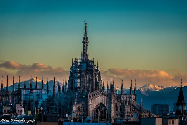 Il Duomo, in una giornata limpida...