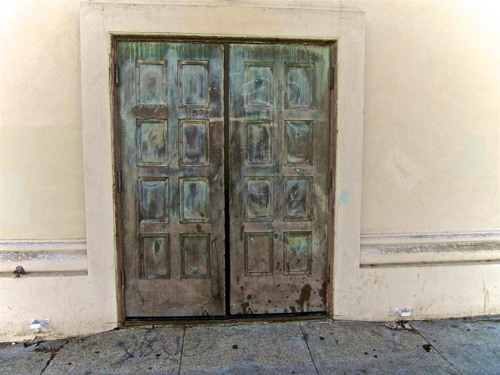 Davies Symphony Hall Neglected Side Street Door