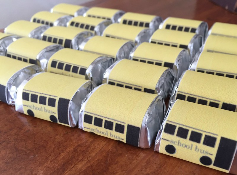 school bus candies