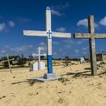 Kreuze im Sand