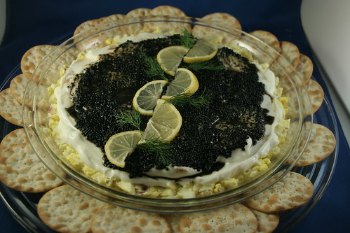 Mrs. Yi's Caviar Pie