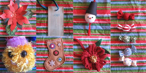 Holiday Ornament Swap '06- received