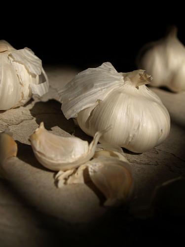 Garlic sensation.   by Sebastian Mary
