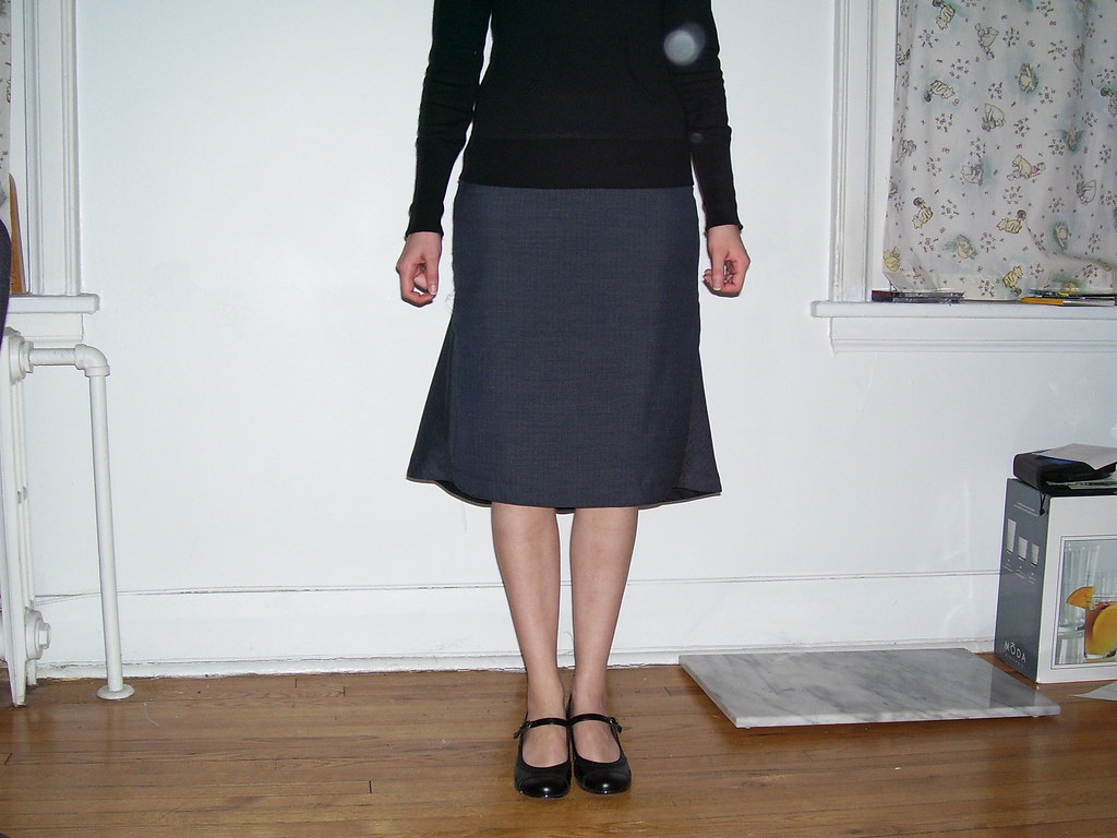 Hot Patterns Bustle Back Skirt Front   victorianmiss   Flickr