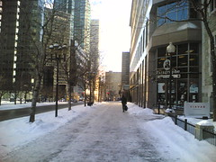 McGill College Sidewalks