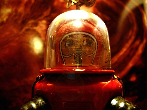 Lost Robot on the Red Planet - Dino Olivieri | by ! / dino olivieri / www.onyrix.com