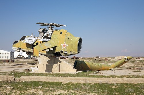 Russian Mi-24 Hind at Kunduz Airport | by deckwalker