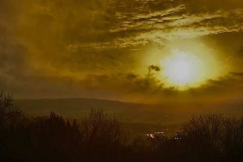 obscured sun by algo