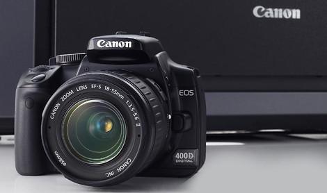 是不是該買台 Canon EOS 400D 拍拍看?