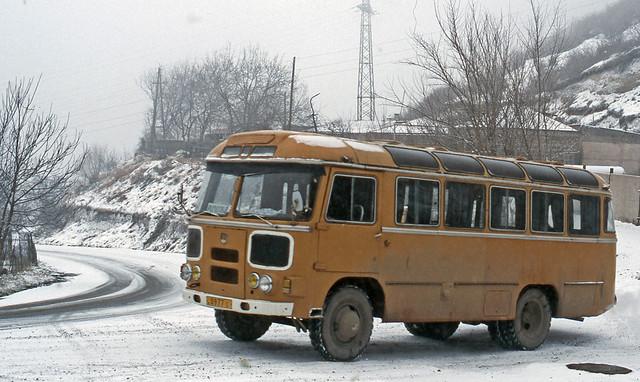 Bus type PAZ-672; 22 Dec 2006, Verin Khotanan - Armenia