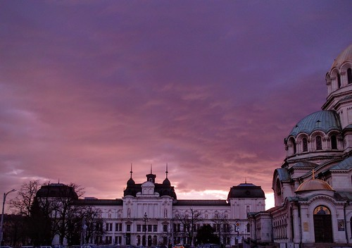 travel roof red sky cloud sun color building art church colors architecture clouds sunrise square colorful purple cathedral photos sofia outdoor picture bulgaria cielo christianity alexander 500 nevsky храм катедрала българия софия паметник християнство вяра александър невски туризъм