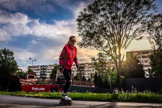 The in-line skater