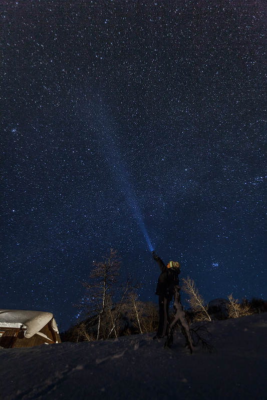 Lighting up Haglebu, Norway